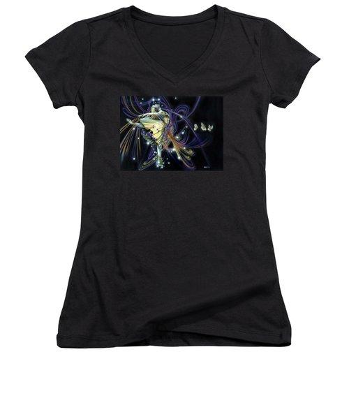 Dancing Stars Women's V-Neck T-Shirt