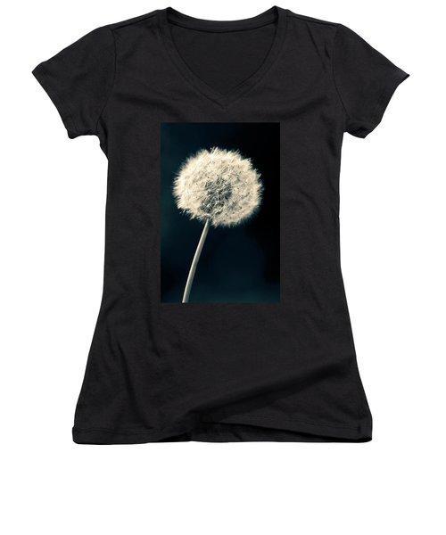 Dandelion Women's V-Neck T-Shirt