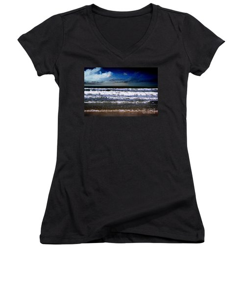 Dawn Of A New Day Seascape C2 Women's V-Neck