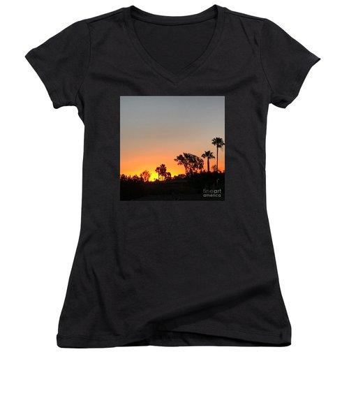 Daybreak Women's V-Neck T-Shirt