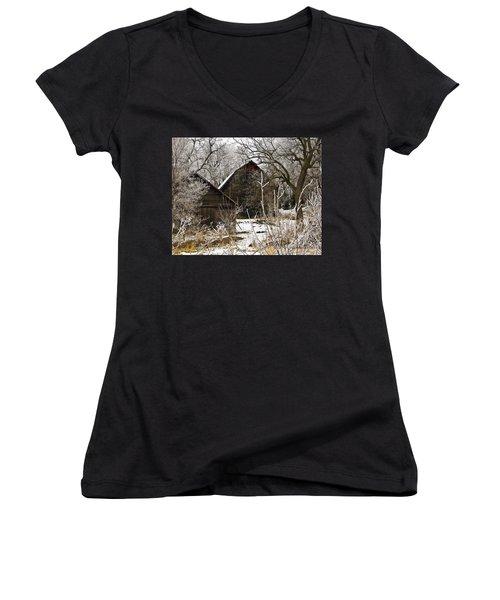 Days Gone Bye Women's V-Neck T-Shirt