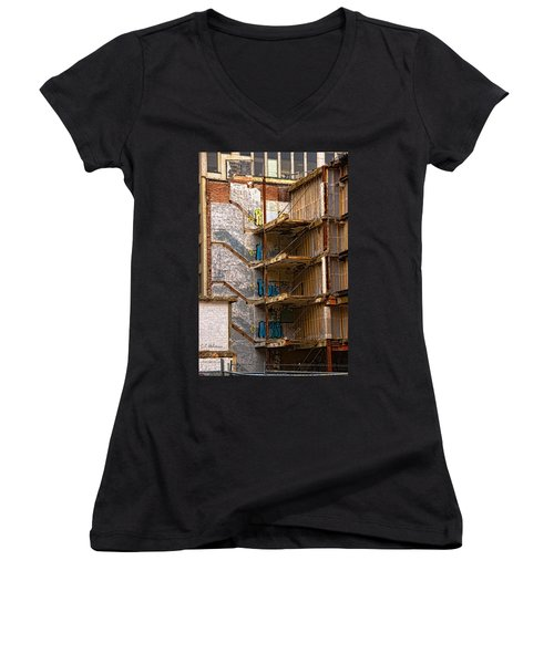 De-construction Women's V-Neck
