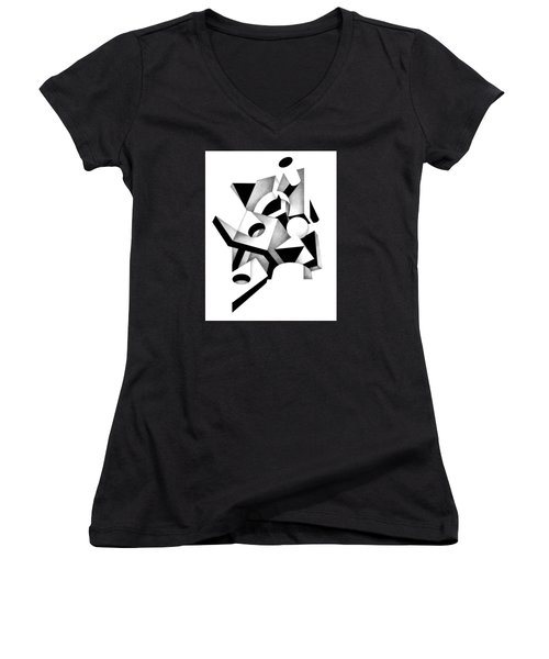 Decline And Fall 12 Women's V-Neck T-Shirt