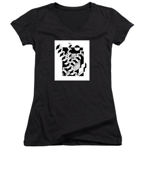 Decline And Fall 14 Women's V-Neck (Athletic Fit)