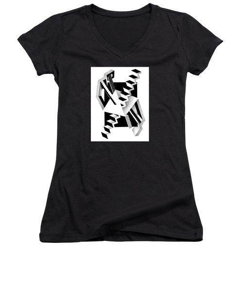 Decline And Fall 3 Women's V-Neck T-Shirt