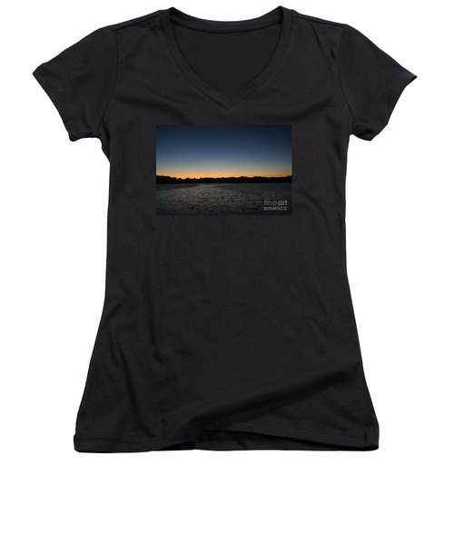 Descending  Women's V-Neck T-Shirt