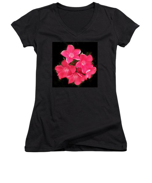 Desert Rose Women's V-Neck