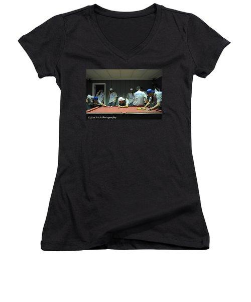 Dj Just Nick Photography Women's V-Neck T-Shirt