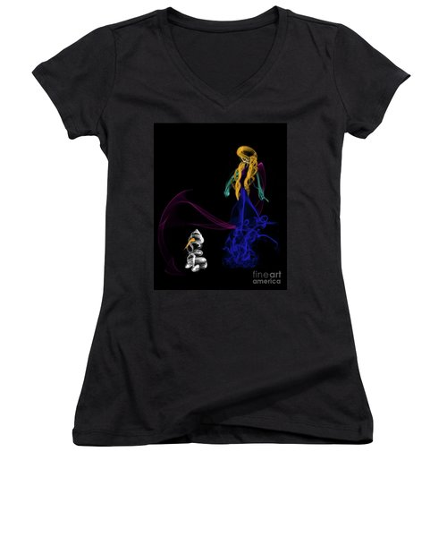 Do You Want To Build A Snowman Women's V-Neck T-Shirt