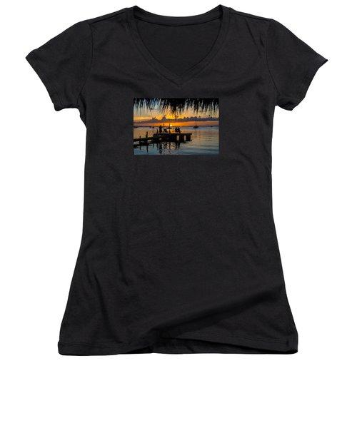 Docktime Women's V-Neck T-Shirt