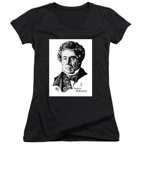 Donald Mckenzie Women's V-Neck T-Shirt