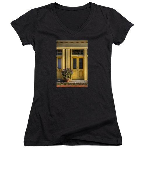 Door 4 Women's V-Neck T-Shirt