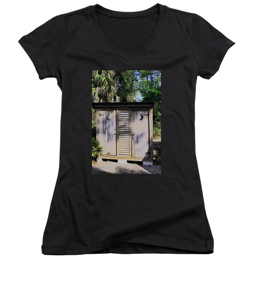 Double Duty Women's V-Neck T-Shirt