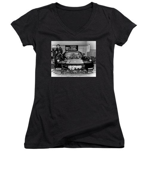 Downtime Women's V-Neck T-Shirt