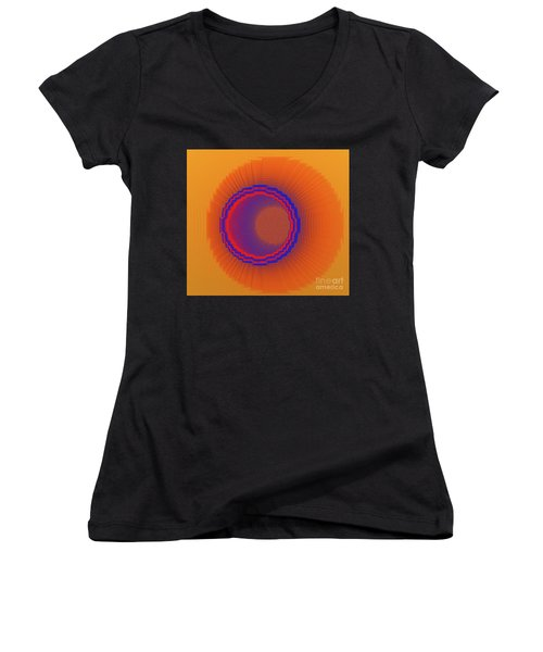 Drawn Within Women's V-Neck (Athletic Fit)