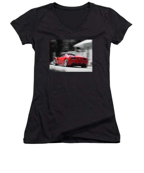 Dream Car Women's V-Neck (Athletic Fit)