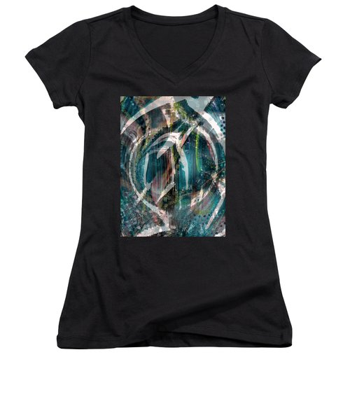 Dimension In Space Women's V-Neck (Athletic Fit)