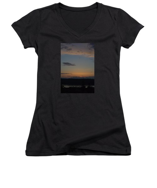 Dreamy Sunset Women's V-Neck T-Shirt