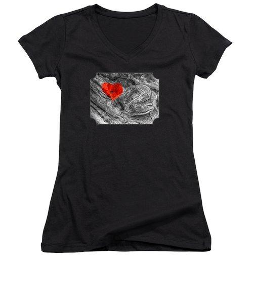 Drifting - Love Merging Women's V-Neck T-Shirt
