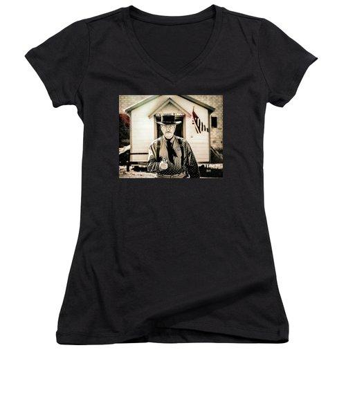 Driftwood Kid Women's V-Neck T-Shirt