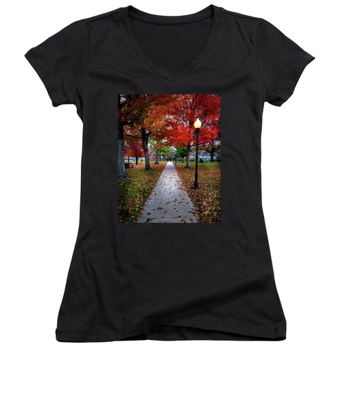 Drury Fall Women's V-Neck