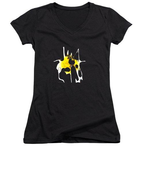 Duel Women's V-Neck T-Shirt