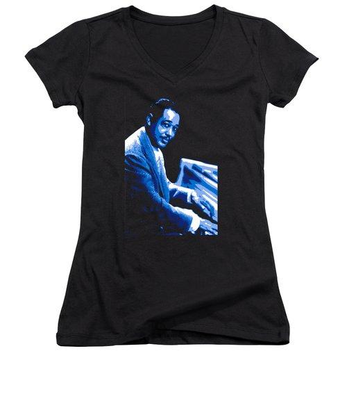 Duke Ellington Women's V-Neck (Athletic Fit)