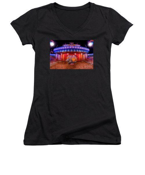 Dumbos Adventures Women's V-Neck T-Shirt