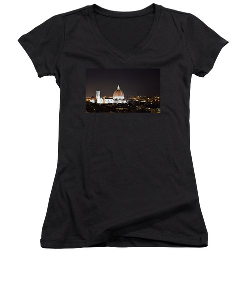 Duomo Illuminated Women's V-Neck