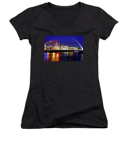 Dusk In Dublin Women's V-Neck