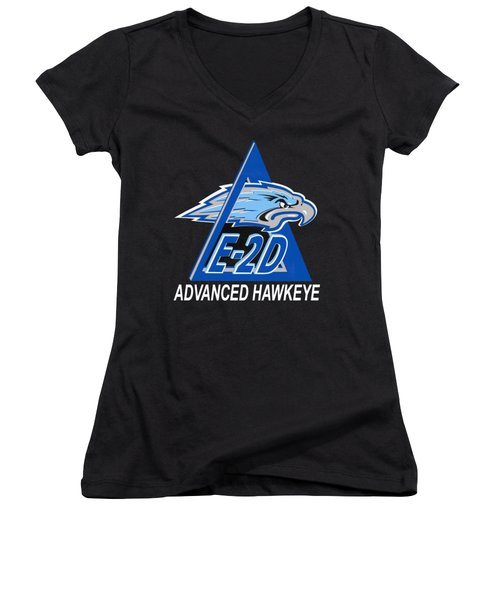 E-2d Advanced Hawkeye Women's V-Neck (Athletic Fit)