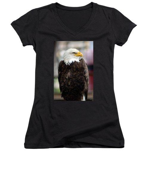 Eagle Women's V-Neck