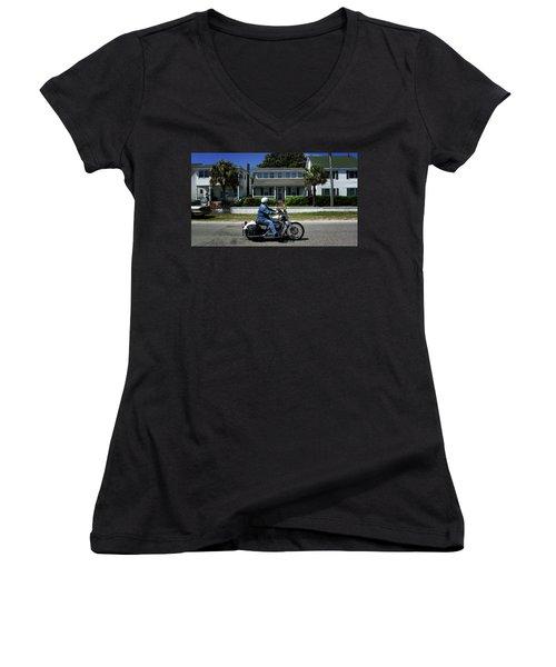 Easy Rider Women's V-Neck