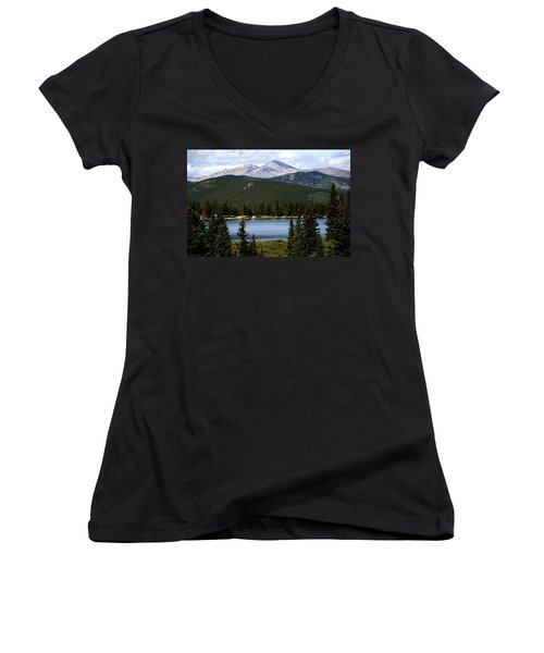 Echo Lake Colorado Women's V-Neck