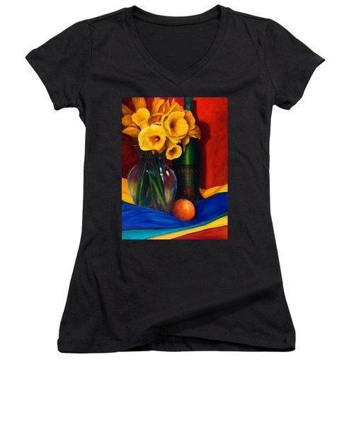 El Nino Women's V-Neck T-Shirt