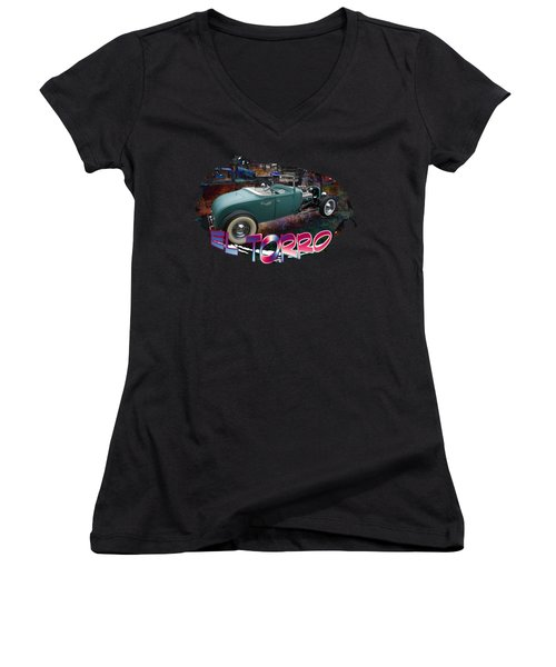 El Torro Women's V-Neck