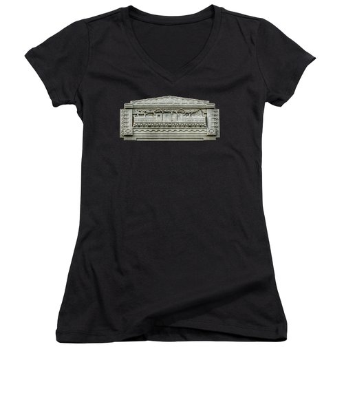 Electricity And Stone Women's V-Neck (Athletic Fit)
