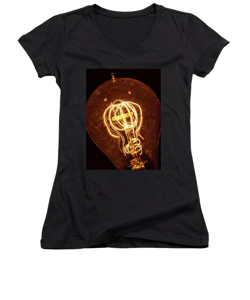 Electricity Through Tungsten Women's V-Neck