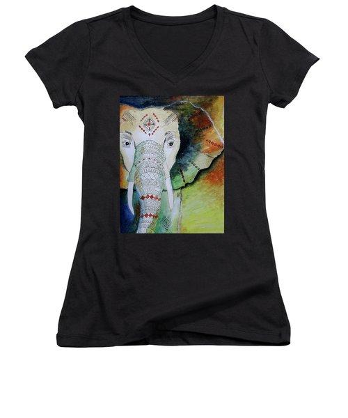 Elephantastic Women's V-Neck T-Shirt