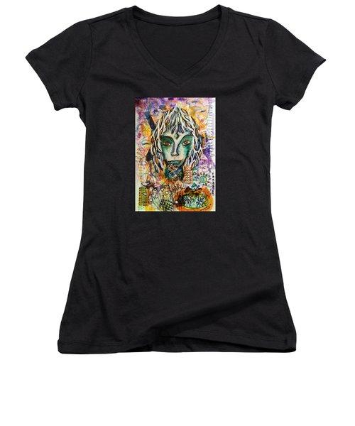 Elf Women's V-Neck T-Shirt