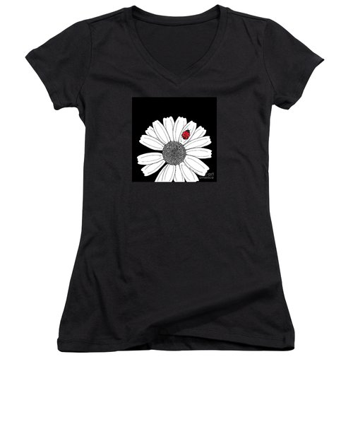 Ella's Daisy Women's V-Neck (Athletic Fit)