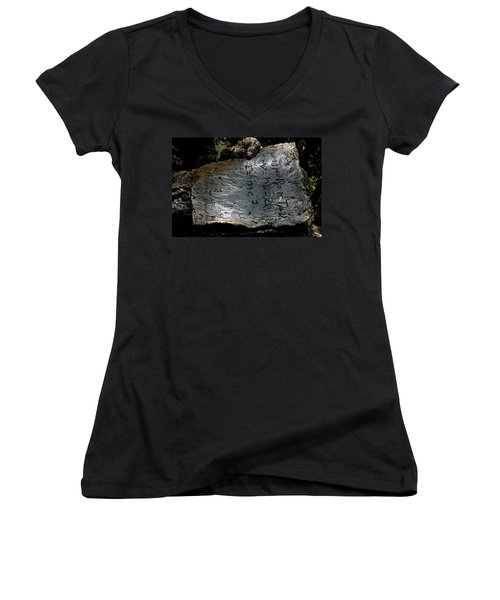 Emc2 Women's V-Neck T-Shirt