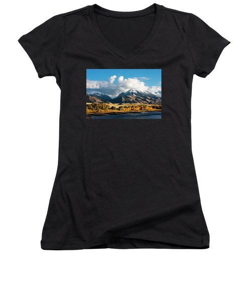 A Touch Of Paradise Women's V-Neck