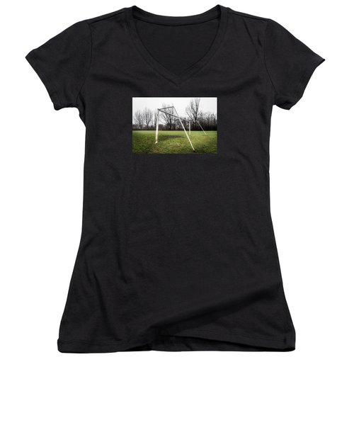 Emptiness Women's V-Neck (Athletic Fit)