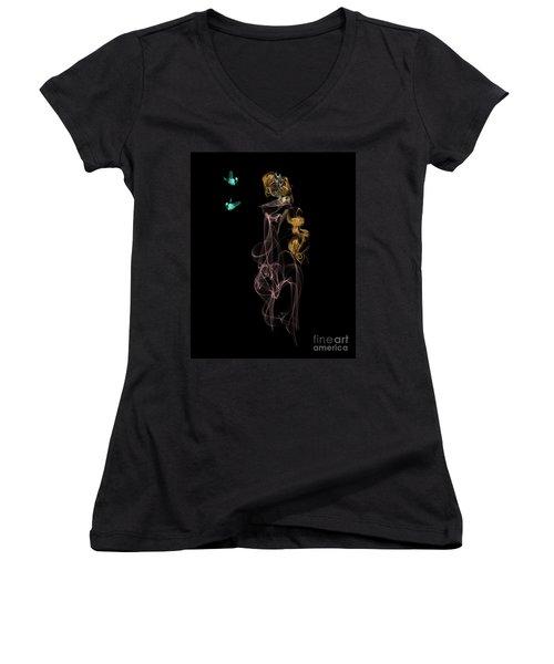 Enchanted Women's V-Neck T-Shirt