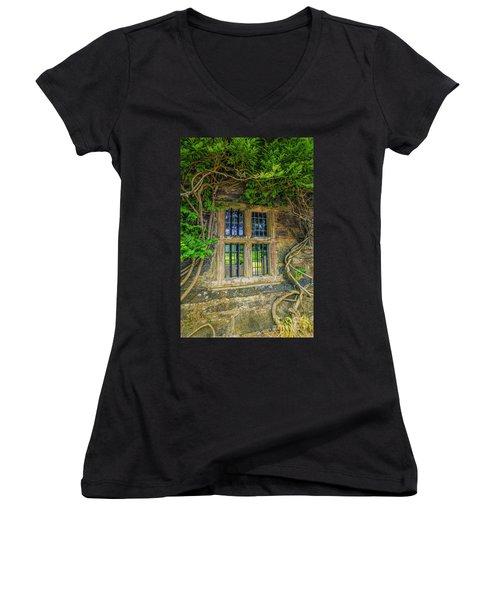 Enchanting Window Women's V-Neck T-Shirt