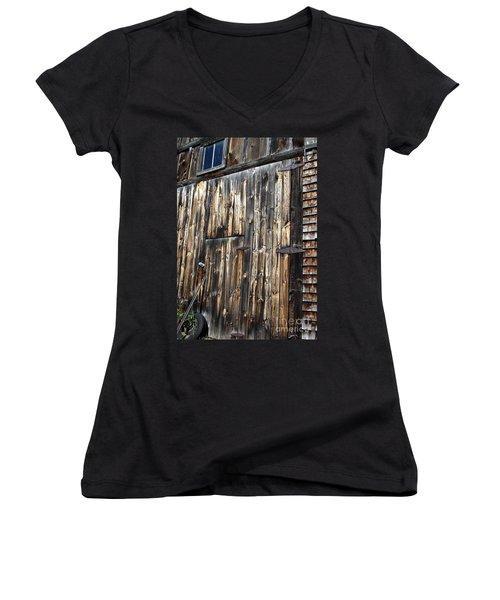 Enter The Barn Women's V-Neck T-Shirt