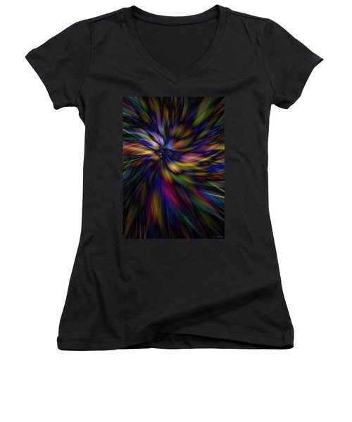 Essence Women's V-Neck