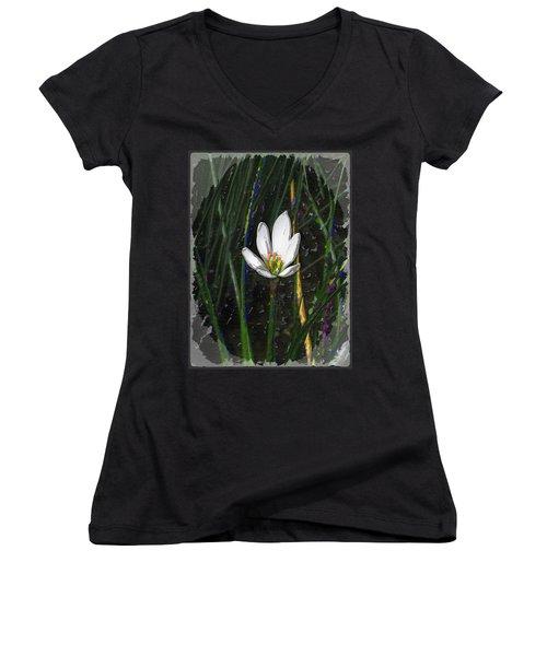 Estuary Elegance Women's V-Neck T-Shirt