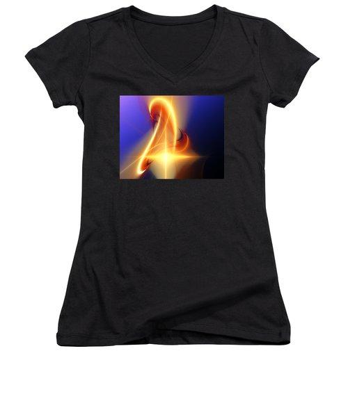 Eternal Flame Women's V-Neck